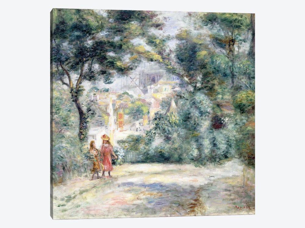 View of Sacre-Coeur, 1905  by Pierre-Auguste Renoir 1-piece Canvas Art Print