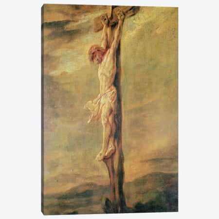 Christ on the Cross, c.1646  Canvas Print #BMN10977} by Rembrandt van Rijn Canvas Wall Art