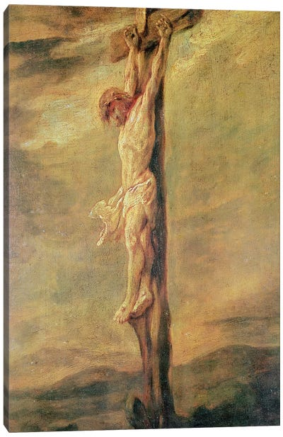 Christ on the Cross, c.1646  Canvas Art Print