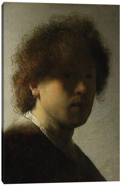 Self Portrait as a Young Man, c.1628  Canvas Art Print