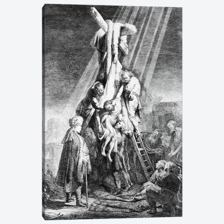 The Deposition, 1633  Canvas Print #BMN10993} by Rembrandt van Rijn Canvas Print