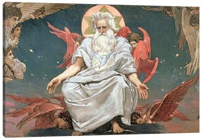 Savaoph, God the Father, 1885-96  Canvas Art Print