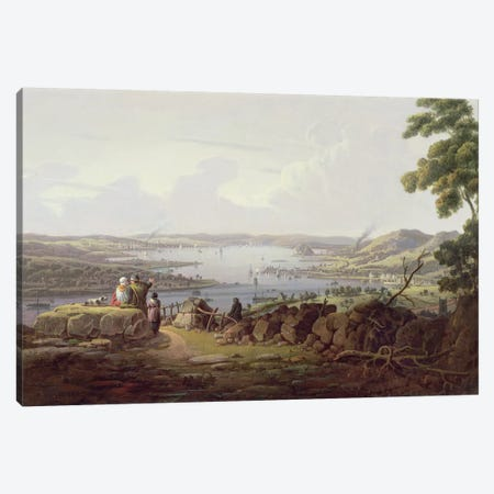View of Greenock, Scotland Canvas Print #BMN1102} by Robert Salmon Canvas Print