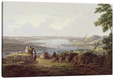 View of Greenock, Scotland Canvas Art Print