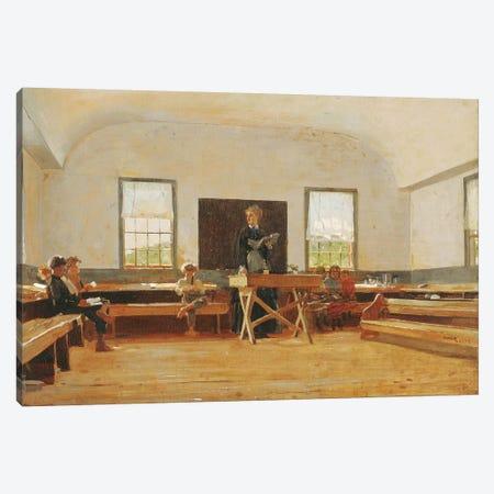 Country School, 1873  Canvas Print #BMN11039} by Winslow Homer Art Print