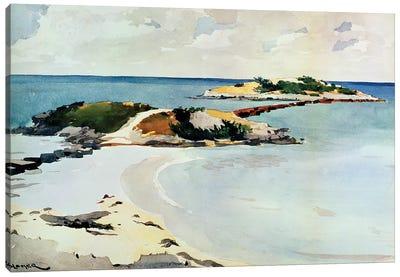 Gallows Island Canvas Art Print