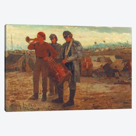 Sounding Reveille, 1865  Canvas Print #BMN11057} by Winslow Homer Canvas Artwork