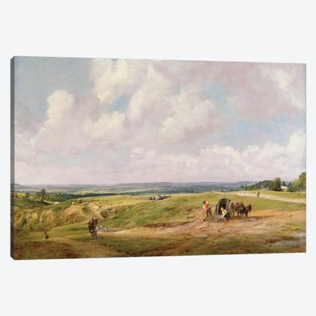 Hampstead Heath, c.1820  Canvas Print #BMN1105} by John Constable Canvas Artwork