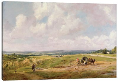 Hampstead Heath, c.1820  Canvas Art Print