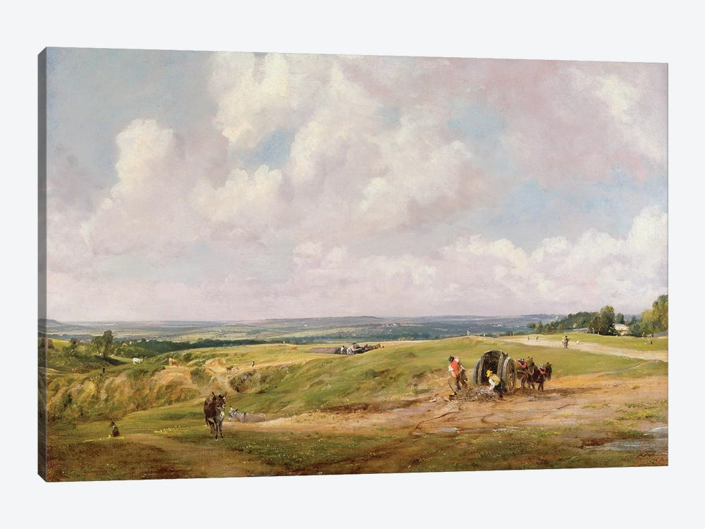 Hampstead Heath, c.1820  by John Constable 1-piece Canvas Art Print