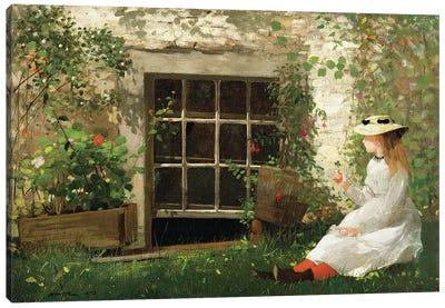 The Four Leaf Clover, 1873  Canvas Art Print