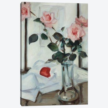 Queen Elizabeth Roses, C.1918 Canvas Print #BMN11076} by Samuel John Peploe Canvas Wall Art