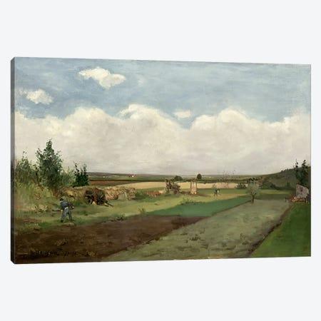 Landscape, 1873  Canvas Print #BMN1107} by Paul Gauguin Canvas Art