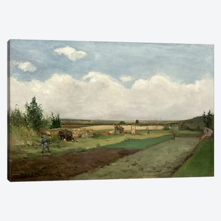 Landscape, 1873  Canvas Print #BMN1107} by Paul Gauguin Canvas Art