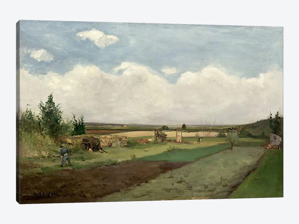 Landscape, 1873  by Paul Gauguin 1-piece Art Print