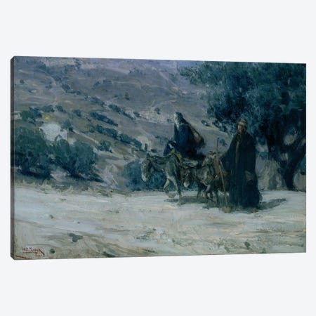 Flight Into Egypt, 1899 Canvas Print #BMN11081} by Henry Ossawa Tanner Canvas Wall Art