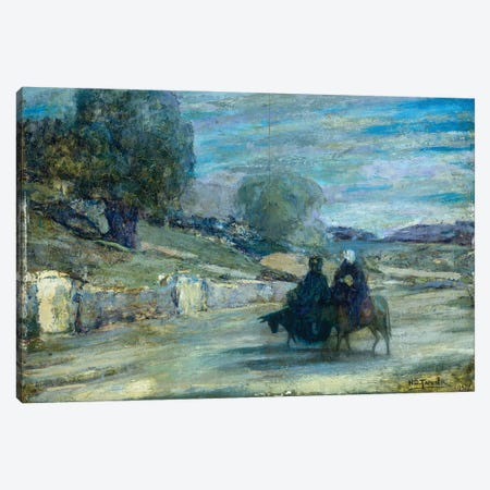 Flight Into Egypt, 1921 Canvas Print #BMN11082} by Henry Ossawa Tanner Canvas Artwork
