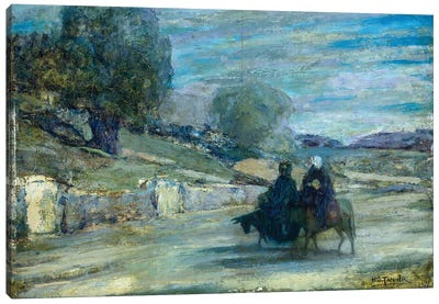 Flight Into Egypt, 1921 Canvas Art Print
