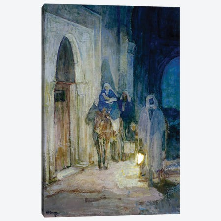 Flight Into Egypt, 1923 Canvas Print #BMN11083} by Henry Ossawa Tanner Canvas Wall Art