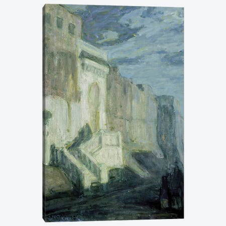 Moonlight: Walls Of Tangiers, C.1913-14 Canvas Print #BMN11086} by Henry Ossawa Tanner Canvas Print