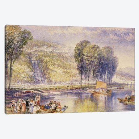 No.0574 St. Cloud, 1832-33  Canvas Print #BMN1108} by J.M.W. Turner Art Print
