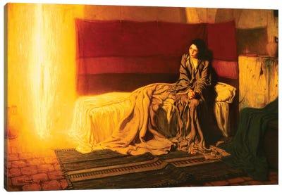 The Annunciation, 1898 Canvas Art Print