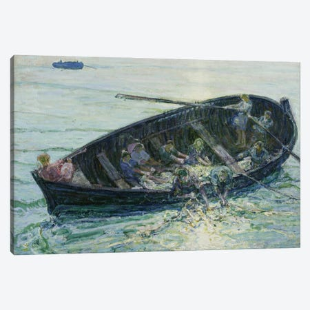 The Miraculous Haul Of Fishes, C.1913-14 Canvas Print #BMN11091} by Henry Ossawa Tanner Art Print