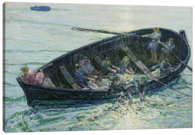 The Miraculous Haul Of Fishes, C.1913-14 Canvas Art Print