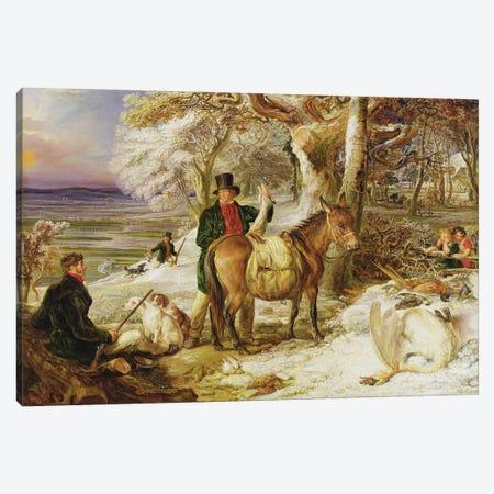A Day's Sport, 1826 Canvas Print #BMN11095} by James Ward Canvas Artwork