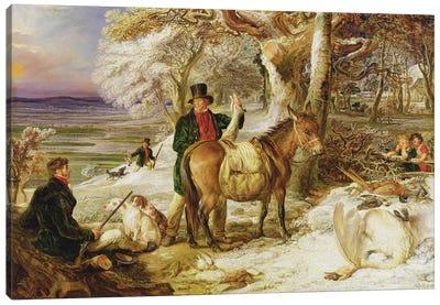 A Day's Sport, 1826 Canvas Art Print
