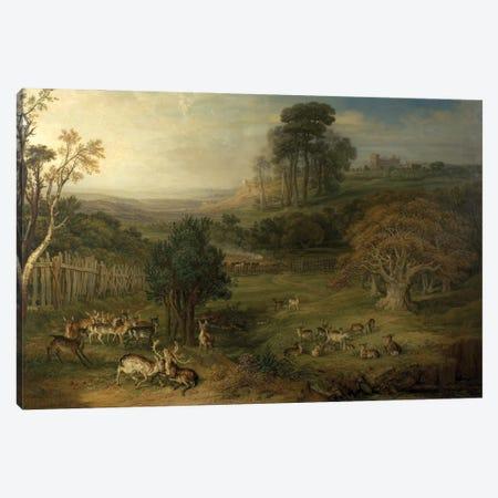 A Dewy Morning , 1849 Canvas Print #BMN11096} by James Ward Canvas Art