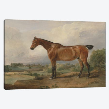 A Hunter In A Landscape, 1810 Canvas Print #BMN11102} by James Ward Art Print
