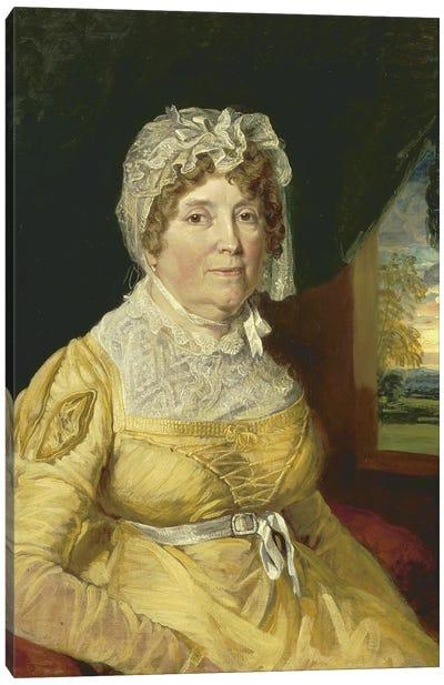 An Unknown Woman, 1811 Canvas Art Print