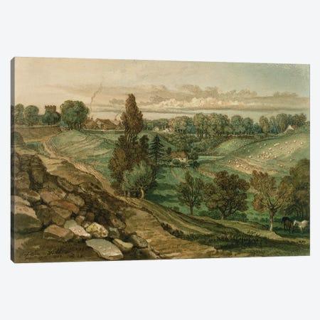 Chiseldon, Near Marlborough, Wiltshire, 1822 Canvas Print #BMN11113} by James Ward Canvas Art