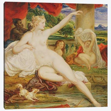 Diana At The Bath, 1830 Canvas Print #BMN11116} by James Ward Canvas Print