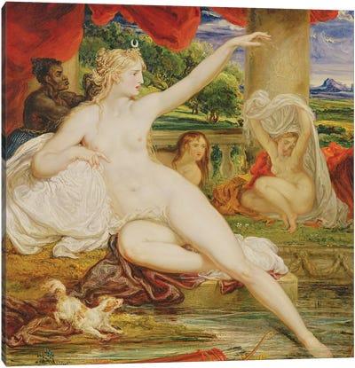 Diana At The Bath, 1830 Canvas Art Print