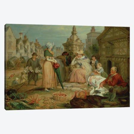 Fair Show Canvas Print #BMN11120} by James Ward Canvas Print
