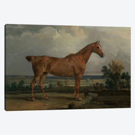 Hunter In A Landscape, 1810 Canvas Print #BMN11127} by James Ward Canvas Wall Art