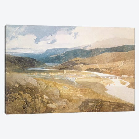 No.2303 Dolgelly, North Wales, 1804-05  Canvas Print #BMN1112} by John Sell Cotman Canvas Art