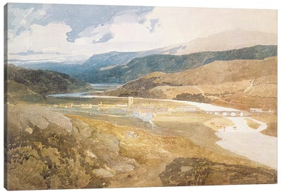 No.2303 Dolgelly, North Wales, 1804-05  Canvas Art Print