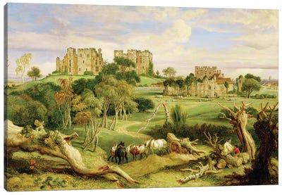 Kenilworth Castle, Warwickshire, 1840 Canvas Art Print