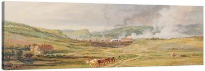 Landscape Near Swansea, South Wales Canvas Art Print