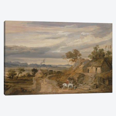 Landscape With Cottages, C.1802-07 Canvas Print #BMN11133} by James Ward Canvas Artwork