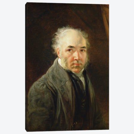 Self Portrait, 1830 Canvas Print #BMN11147} by James Ward Canvas Artwork