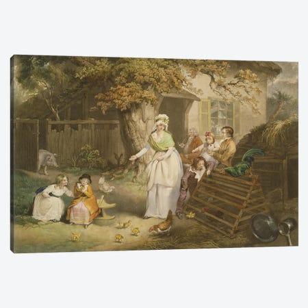 The Citizen's Retreat, 1796 Canvas Print #BMN11158} by James Ward Canvas Art