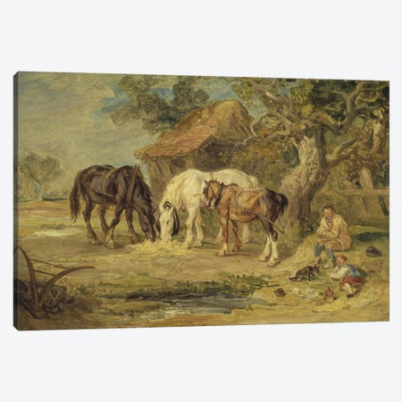 The Midday Meal, C.1830-40 Canvas Print #BMN11162} by James Ward Art Print