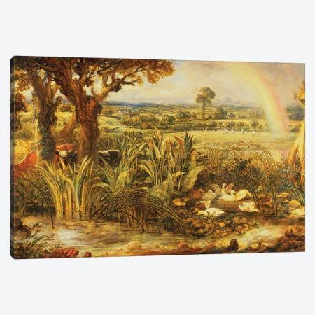 The Rainbow Canvas Print #BMN11165} by James Ward Canvas Wall Art