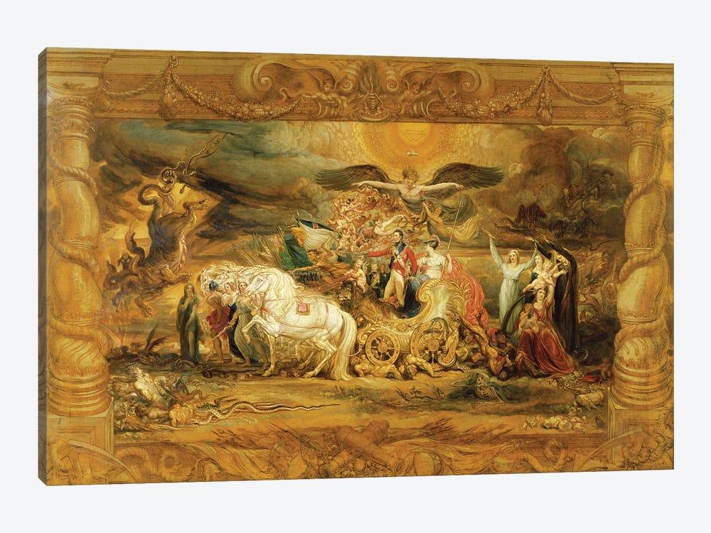 The Triumph Of Arthur Duke Of Wellington by James Ward 1-piece Canvas Wall Art