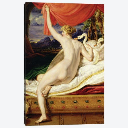 Venus Rising From Her Couch, 1823 Canvas Print #BMN11172} by James Ward Canvas Artwork