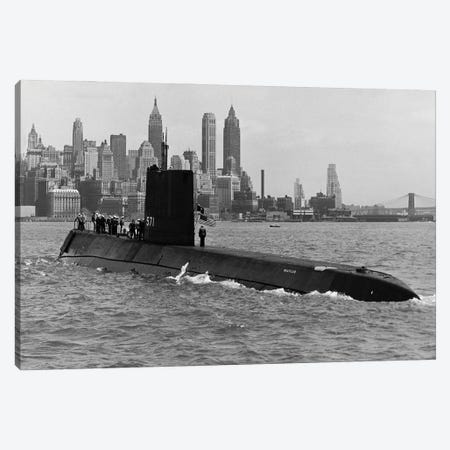 USS Nautilus (SSN-571) Canvas Print #BMN11179} by American Photographer Canvas Artwork